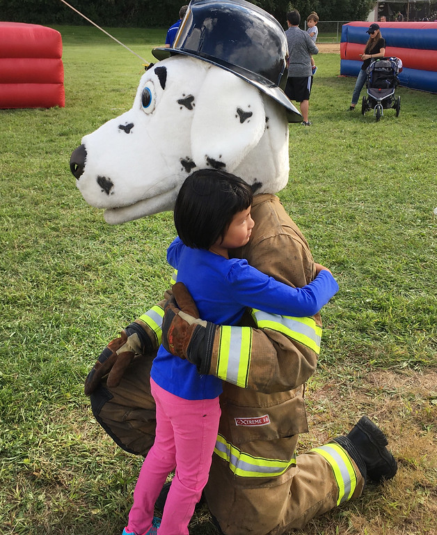 . A big hug for Sparky.