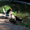 Kathi, Big Guy, Canal, FB, 7, Maddie
