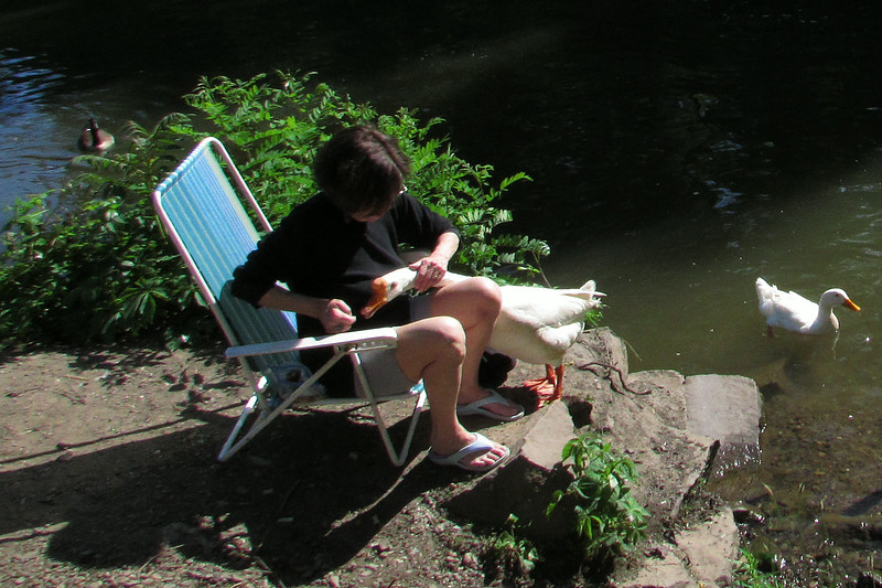 Kathi big guy goose canal 2