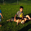 Maddie, children, reshav, dino, towpath