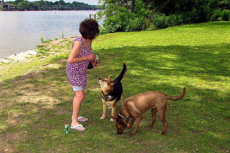 Maddie Jake boyfriend towpath, kathi, 2, FB
