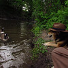 maddie, hat, canal, towpath, 3