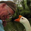 Me, marty, big guy, goose, canal, portrait, FB2