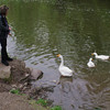 kathi, big guy, goose, canal