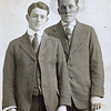 Byron (Bud) William Yaden [left] - 1912 (Feb 17) - Age 15 - Shoshone, ID