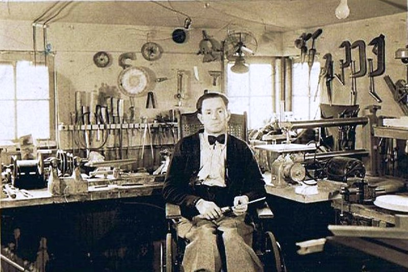 Byron William Yaden (Bud) [1897-1975] - Circa 1930 - Age abt. 33 - Yakima, WA
