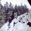 1958 (Aug) - Photo taken near the cabin on the Naches River - Cliffdell, WA - From the Byron W. Yaden 35MM Slide Collection
