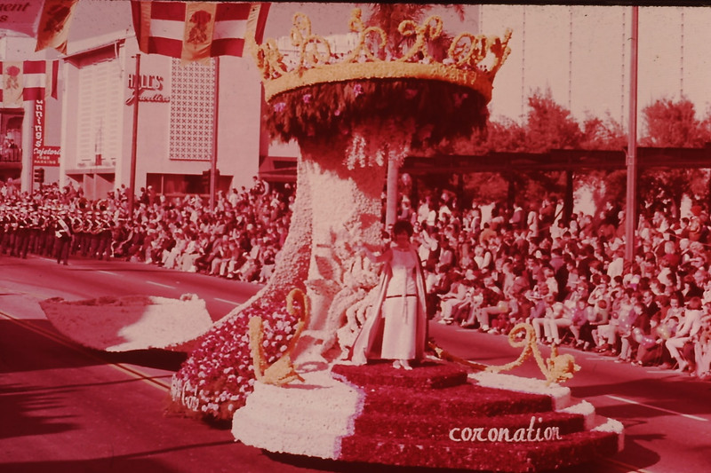 1963 (Jan) - Rose Parade - Pasadena, CA - From the Byron W. Yaden 35MM Slide Collection