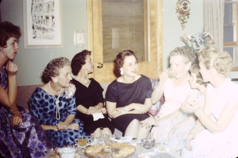 1963 (December) - Wives of members of the DAV (Disabled American Veterans) - From the Byron W. Yaden 35MM Slide Collection