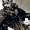 Edna Maxwell - 1901 - Age 7 - Durand, WI (1894-1955)<br /> <br /> Edna Maxwell would marry Byron (Bud) Yaden in Shoshone, ID on May 21, 1920 and give birth to fraternal twins---David Byron Yaden at 11:45 P.M. on February 10, 1921, and William Maxwell Yaden a few minutes after midnight on February 11, 1921.  Both babies were premature, weighing only 3.75 lbs each.  David was kept warm in a padded shoe box on top of a hospital heat register and survived.  Attempts to save William were unsuccessful and he died 12 hours after birth.