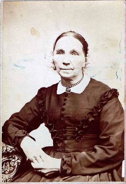 Catherine Willson - 1878 - Fairfax, Vermont - Maternal Great-Grandmother of Edna (Maxwell) Yaden