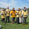 Bud Lewis is on the far right.  This is from a fencing tournament at the SCA Pennsic War in 2010.