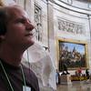 Bud Lewis in the rotunda of the Capital in Washington, D.C.