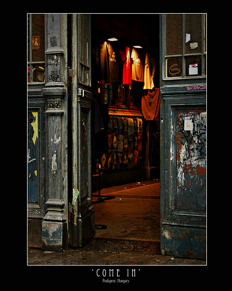 Old Shop in Nyugati Train Station