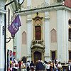 Szentendre Town square.