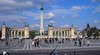 Daytime view of Heroes Square, Budapest, Hungary.