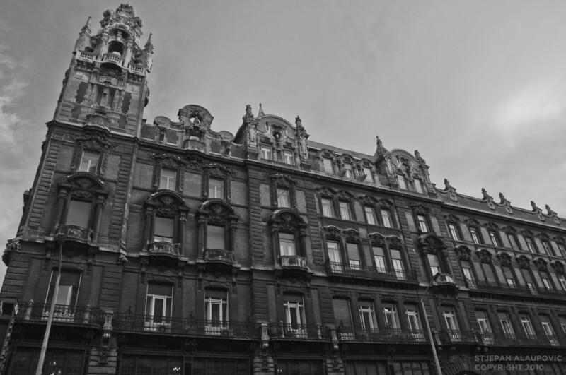Budapast Gothic Building