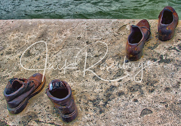""""" Shoes on the Danube Bank"""