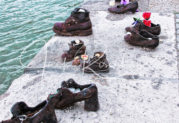 """ Shoes on the Danube Bank 2"""