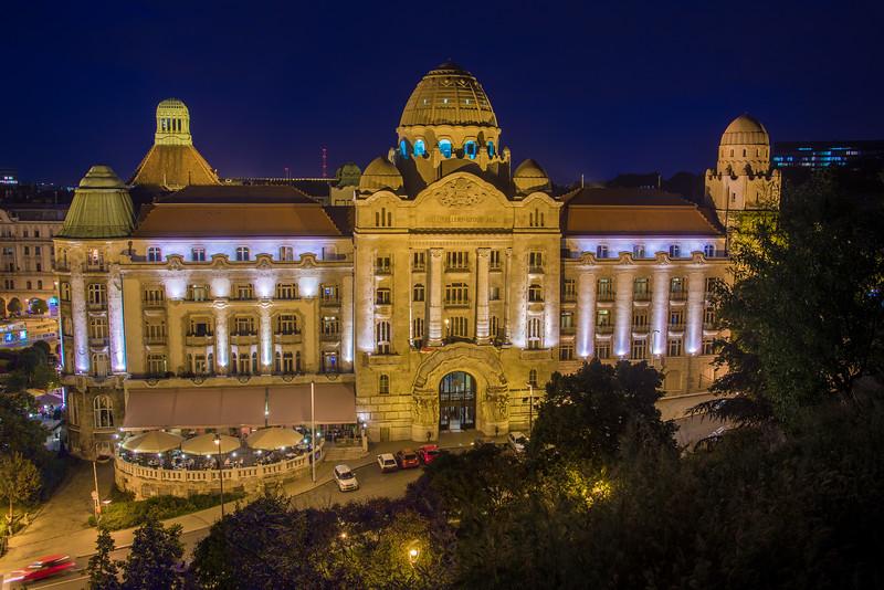 Hotel Gellert Bath in Budapest