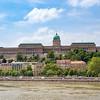 Buda Castle Royal Palace from Chain Bridge
