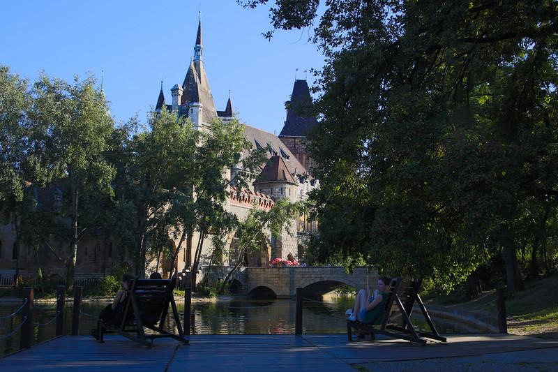 Vajdahunyad Castle in Budapest