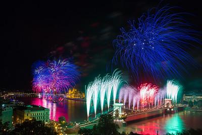 budapest fireworks