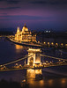 City of gold!- Chain Bridge and Parliament, Budapest