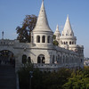 The fisherman's bastion overlooking the river.