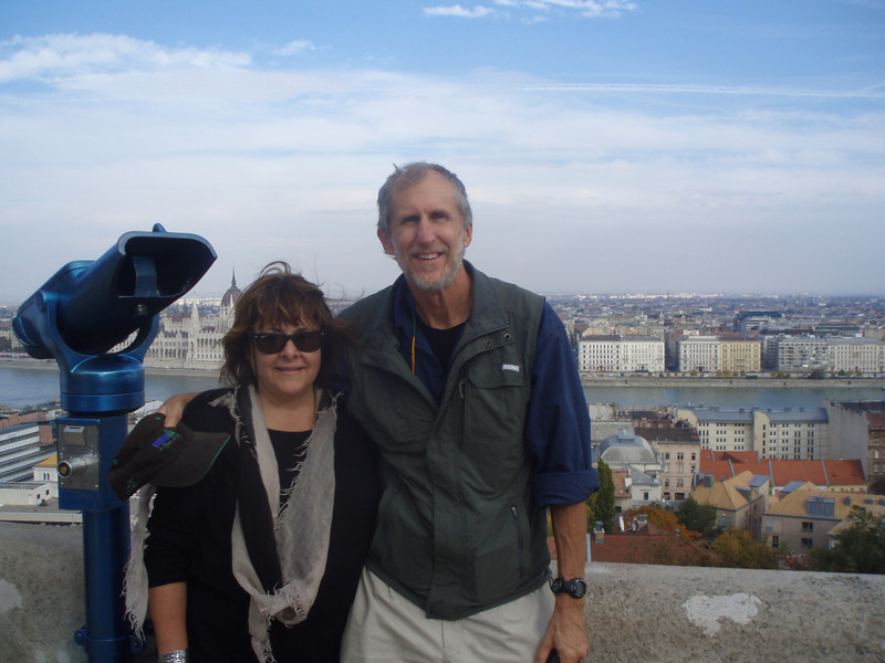 On the second day, we toured the castle complex on Buda hill.