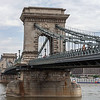 Szecheni (Chain) Bridge, 1849), across the Danube River, Budapest, Hungary