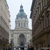 A beautiful building in Budapest, Hungary in January 2014