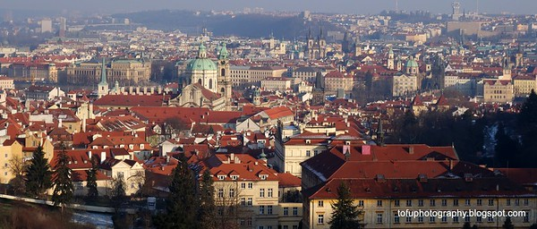 Prague, Czech Republic in February 2014