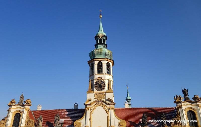 Loreta building in Prague, Czech Republic in February 2014