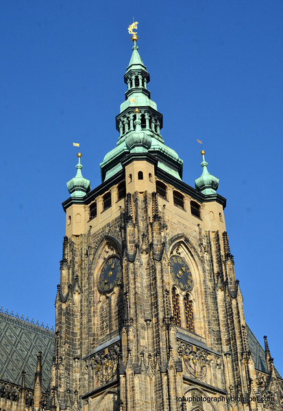 St Vitus Cathedral in Prague, Czech Republic in February 2014