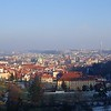 View of Prague, Czech Republic in February 2014