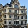 A grand old building in Prague, Czech Republic, in February 2014