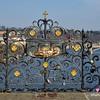 Love locks on the Charles Bridge over the Vltava River in Prague, Czech Republic in February 2014