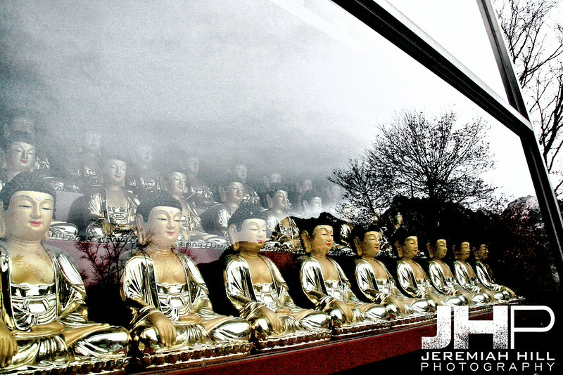 """Quiet Bukhansan Reflections"", Seoul, South Korea, 2008 Print KOR31122-066V2"