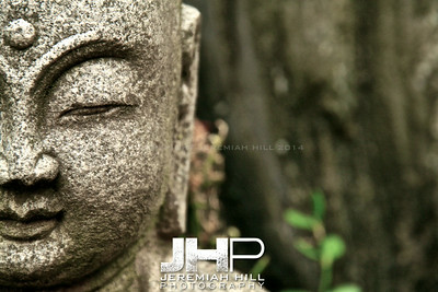 """The Stone Buddha"", Bundang, South Korea, 2008 Print KOR3-518-024"