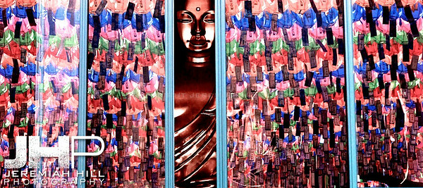 """Buddha Surrounded in Color"", Seoul, South Korea, 2010 Print KOR3C52-036V2"