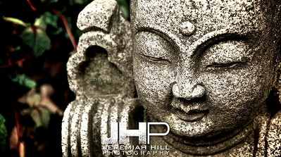 """The Stone Buddha #2"", Bundang, South Korea, 2008 Print KOR3-518-023"