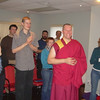 OSG with visiting NSD, Gen Kelsang Tekchen, Resident Teacher, Kelly Loeffelmann and Alberta Sangha