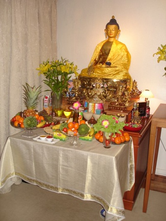 Tsog offerings for Wishfulfilling Jewel