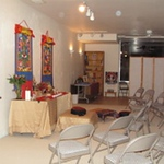Then we decided to capture the view of our meditation room for everyone to see.