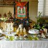 Shrine at Avalokiteshvara empowerment