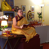 Kelsang Lotchana, Resident Teacher at the Centre