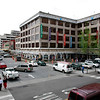 Photo Eric Brady | The Roanoke Times <br /> Photo taken 4/04/07  <br /> The market area in downtown Roanoke including Center in the Square and farmers market stalls undergoing renovation.
