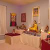 Buddhist meditation room in Columbia, SC.