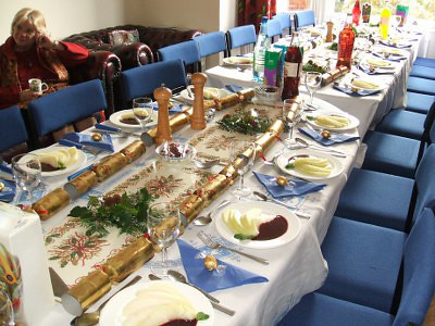 Fund-raising Christmas lunch